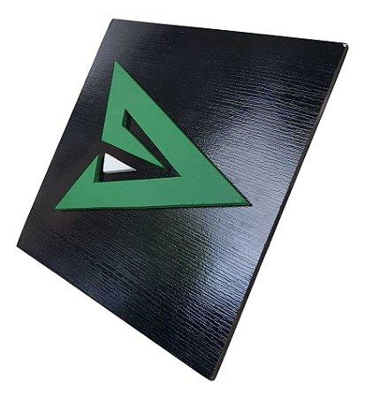 Quadro decorativo 3D Arqueiro Verde Arrow Liga da justiça MDF