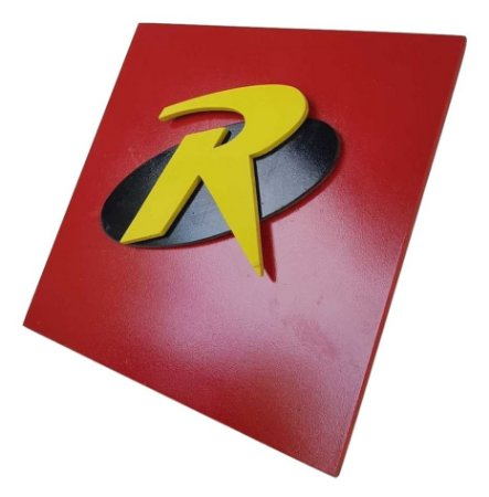 Quadro Decorativo 3D Robin Batman Liga da justiça MDF