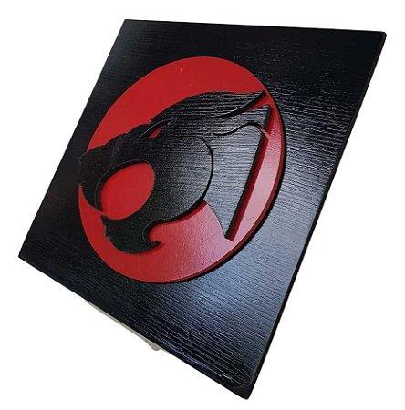 Quadro Decorativo 3D Thundercats MDF