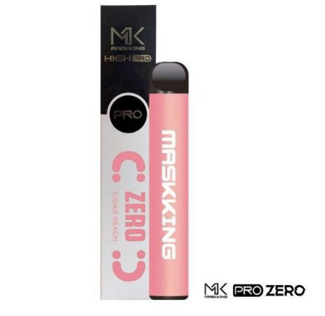 MK - PEACH GRAPE - ZERO NICOTINA - MASKKING HIGH PRO - 1000 PUFFS