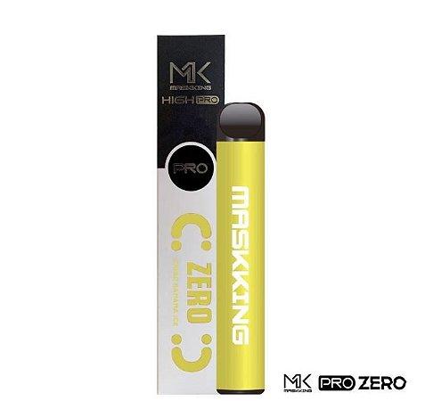 MK - BANANA ICE - ZERO NICOTINA - MASKKING HIGH PRO - 1000 PUFFS