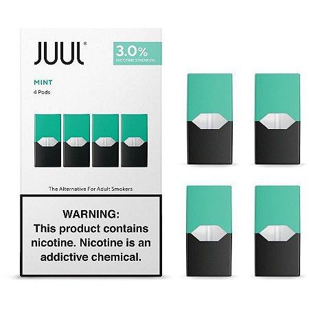 REFIL JUUL (PACK OF 4) MINT 3% NICOTINA