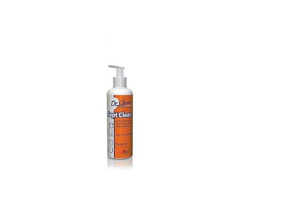 Shampoo Sept Clean 125ml Antisséptico Cães e Gatos