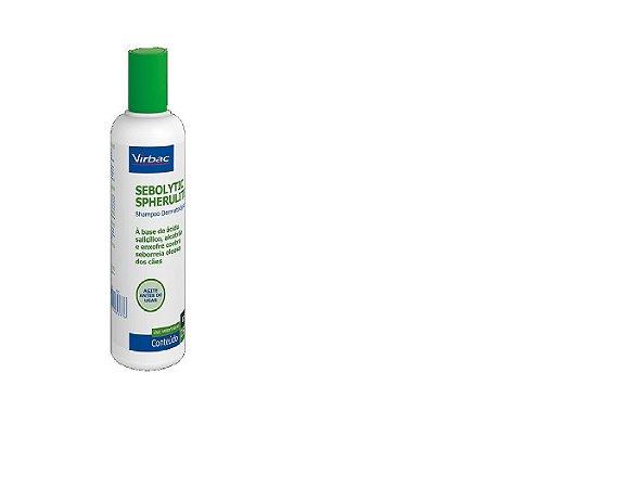 Shampoo Sebolytic Spherulites 250ml Vribac