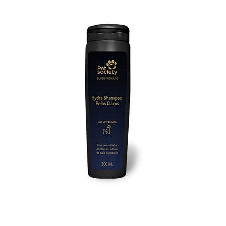 Shampoo PetSociety Super Premium Pelos Claros 300ml