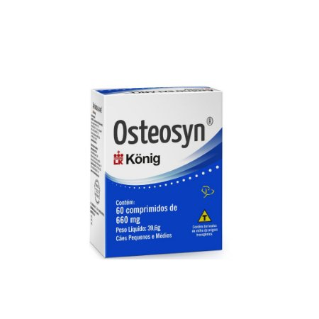 Osteosyn Para Cães 660mg 60 comprimidos