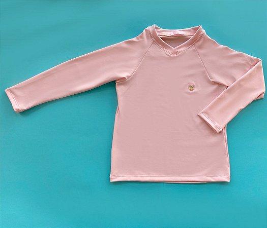 Blusa Proteção Rosa Claro