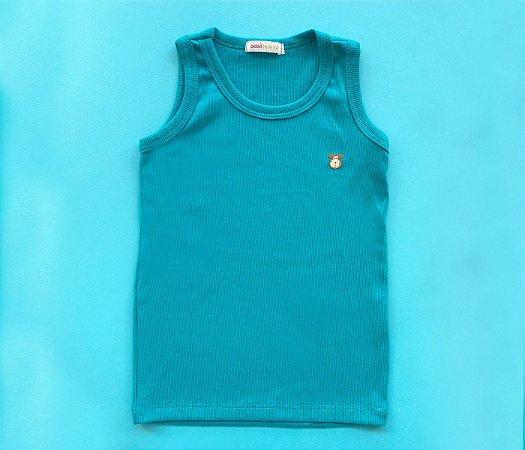 Camiseta Infantil Topaze Cor Azul