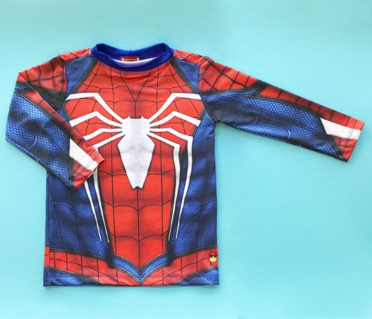 Camisa Proteção UV+ Estampa Homem Aranha