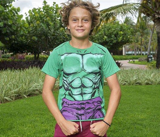 Camisa Super Herói Hulk