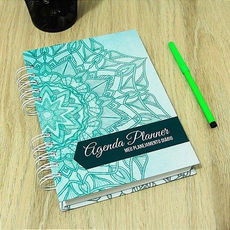 Agenda Planner Personalizada Mandala | Personalize a Capa e Mês de Início |Ver Descrição | M71