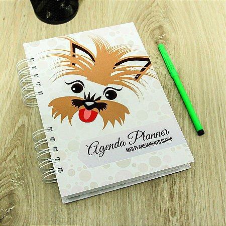 Agenda Planner Personalizada Cachorrinho | Personalize a Capa e Mês de Início |Ver Descrição | M73