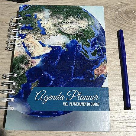 Agenda Planner Personalizada Mundi | Personalize a Capa e Mês de Início |Ver Descrição | M88