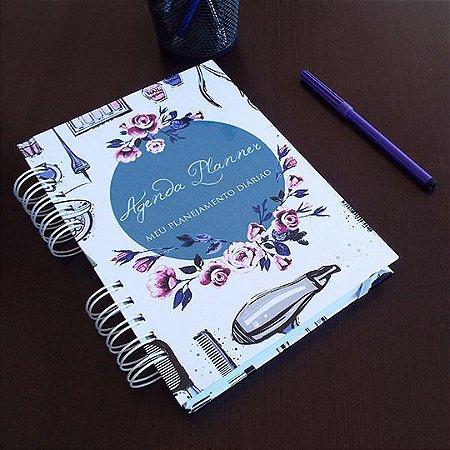Agenda Planner Personalizada Salão de Beleza | Personalize a Capa e Mês de Início |Ver Descrição | M92