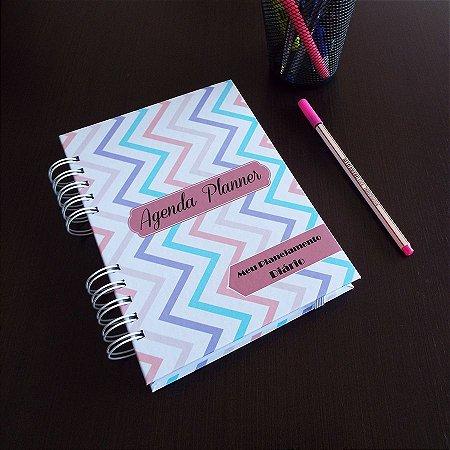 Agenda Planner Personalizada | Personalize a Capa e Mês de Início |Ver Descrição | M96