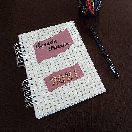 Agenda Planner Personalizada | Personalize a Capa e Mês de Início |Ver Descrição | M97