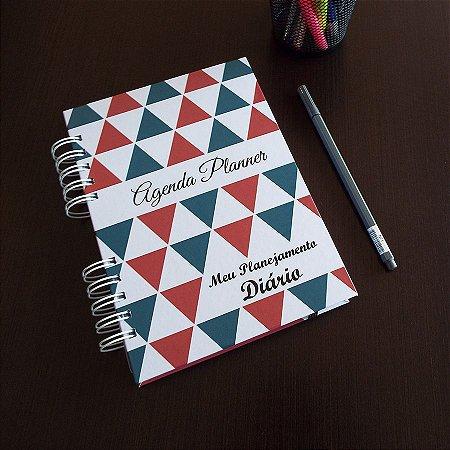 Agenda Planner Personalizada | Personalize a Capa e Mês de Início |Ver Descrição | M98