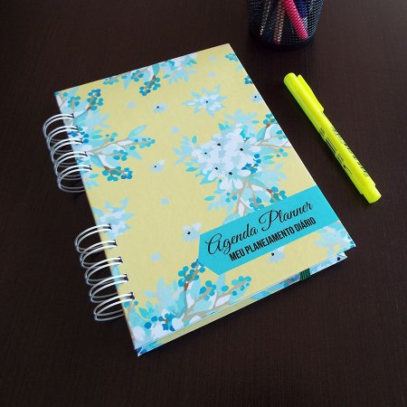 Agenda Planner Personalizada | Personalize a Capa e Mês de Início |Ver Descrição | M99