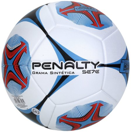 Bola Society Penalty Sete R2 Ko X branca e azul