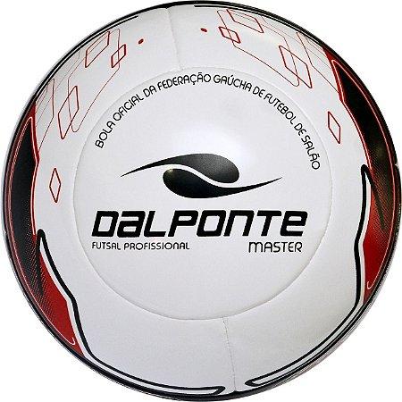 Bola De Futsal Dalponte Profissional Master Fed. Gaúcha Vermelha