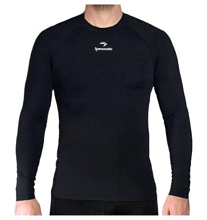 Camisa Térmica Segunda Pele Dryfit 100% Poliamida Manga Longa