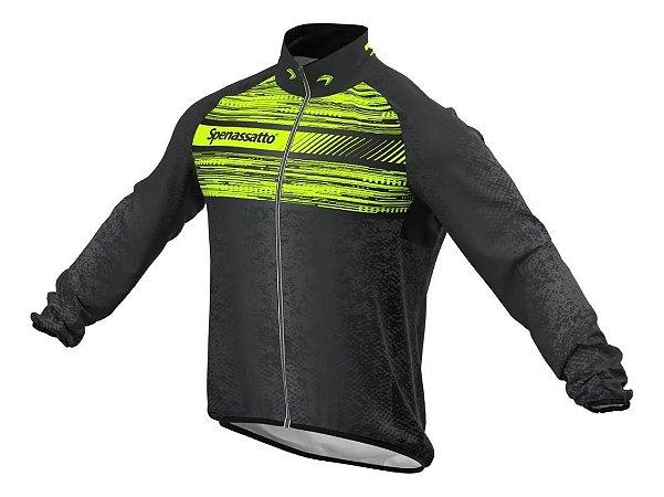 Jaqueta Corta Vento Para Ciclismo Neon Masculina