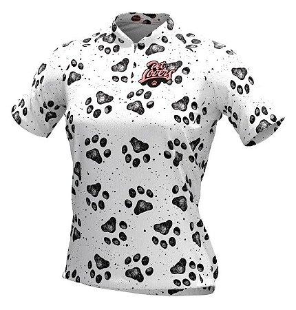 Camisa De Ciclismo Feminina Pet Lovers Dog