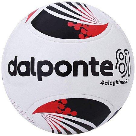 Bola De Futsal Dalponte 81 New Termofusion - Branco e Vermelho