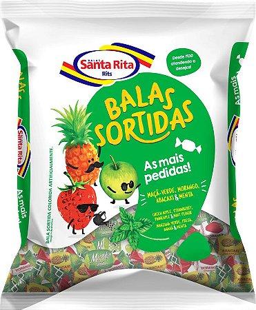 Bala Mastigável As Mais Pedidas Sortidas 600g -  Santa Rita