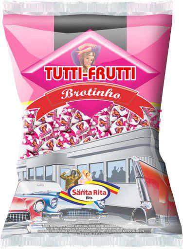 Bala Mastigável Tutti-Frutti Brotinho 600g -  Santa Rita