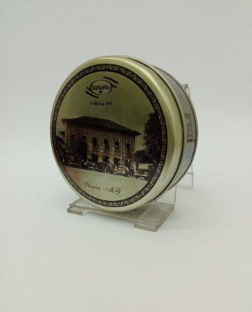 Lata Decorativa - Modelo Antiga Fabrica 1 -  Santa Rita