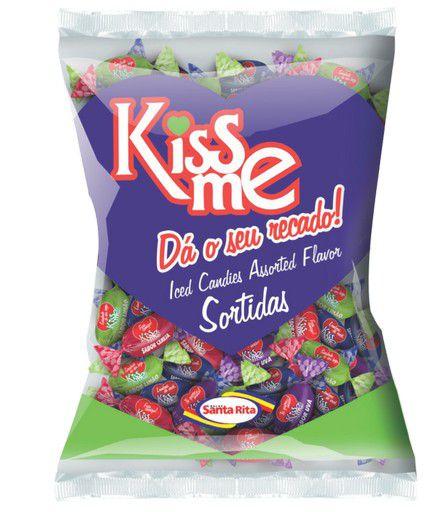 Bala Kiss Me Sortidas 600g -  Santa Rita