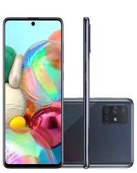 """Smartphone Samsung Galaxy A71 128GB, Tela Infinita de 6.7"""", Câmera Traseira Quádrupla, Leitor Digital na Tela, 6GB RAM e Processador Octa-Core"""