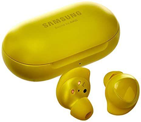 Fone de Ouvido Sem Fio Samsung Galaxy Buds In Ear - Preto / Amarelo