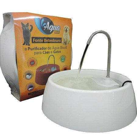 Aqua Mini - Fonte, Bebedouro e Purificador de Água Bivolt