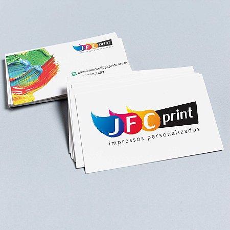 Cartão de Visita Off set- 300g  4x4 - 1.000 unidades