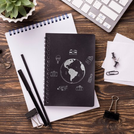 Caderno de Bordo Premium com 150 Folhas Personalizadas PB