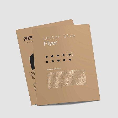 Flyer 15x21cm 4x4  150g - 3.000 Unidades