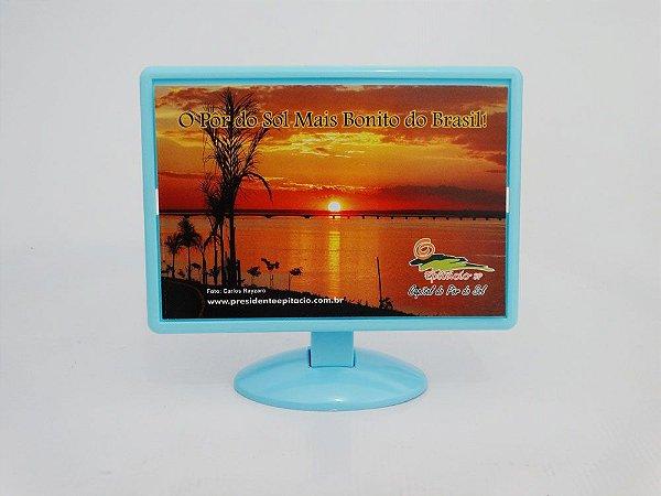 Porta Retrato Monitor - Pôr do Sol mais bonito do Brasil