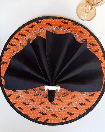 Capa para Sousplat Halloween - Morcego