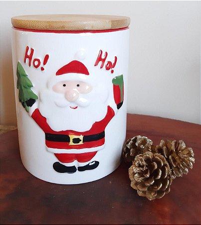 Pote Porcelana Natal - Ho Ho
