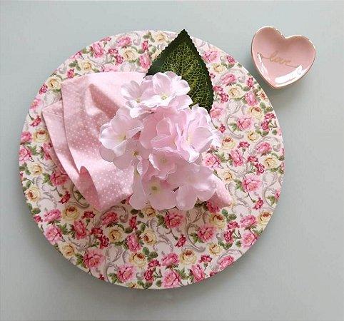Capa para Sousplat Flowers
