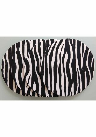 Capa para Sousplat Zebra