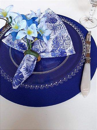 Guardanapo Folhagem Azul