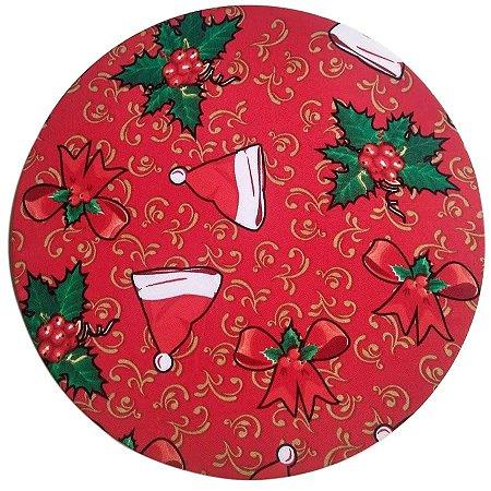 Capa para Sousplat Natal Gorro Oxford
