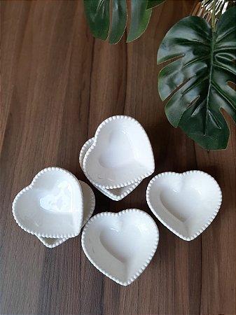Mini Bowl Coração Cerâmica