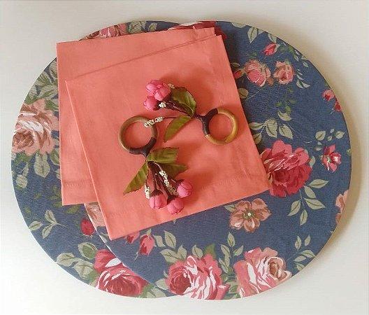 Kit Floral Jeans - 6 peças