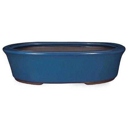 Vaso Oval Esmaltado Literato 28 X 21 X 7 cm