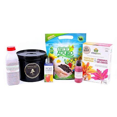 Kit Completo de Adubação Anual de Bonsai