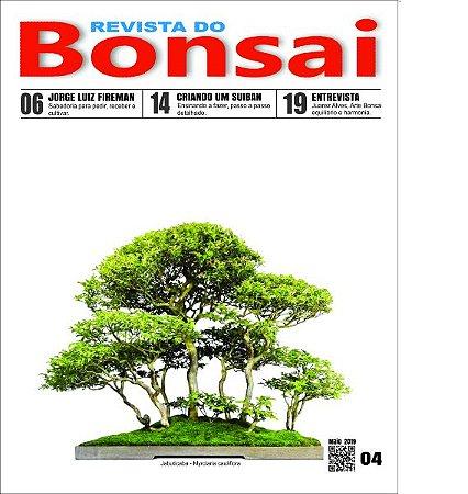 Revista do Bonsai Brasileiro (1ª, 2ª, 3ª e 4ª Edição)